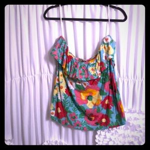 Lilly Pulitzer Strapless top.